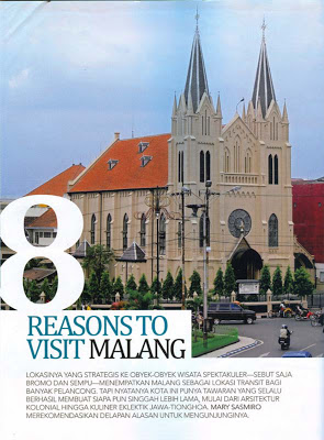 visit malang, visit hotel tugu - cathedral church at kayutangan street