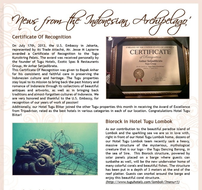 news from the indonesian archipelago october 2013