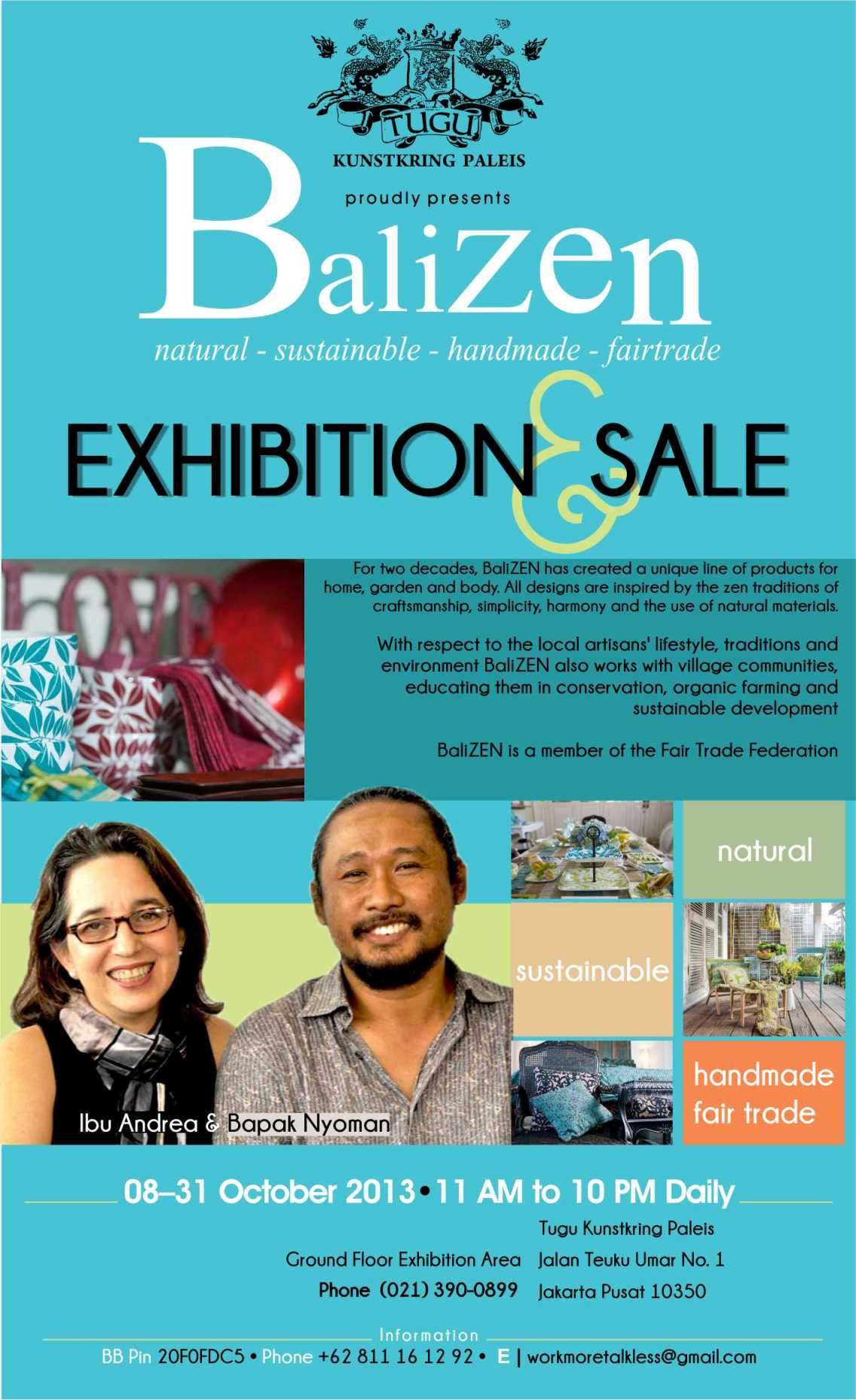balizen exhibition and sale 08-31 october 2013 at tugu kunstkring paleis