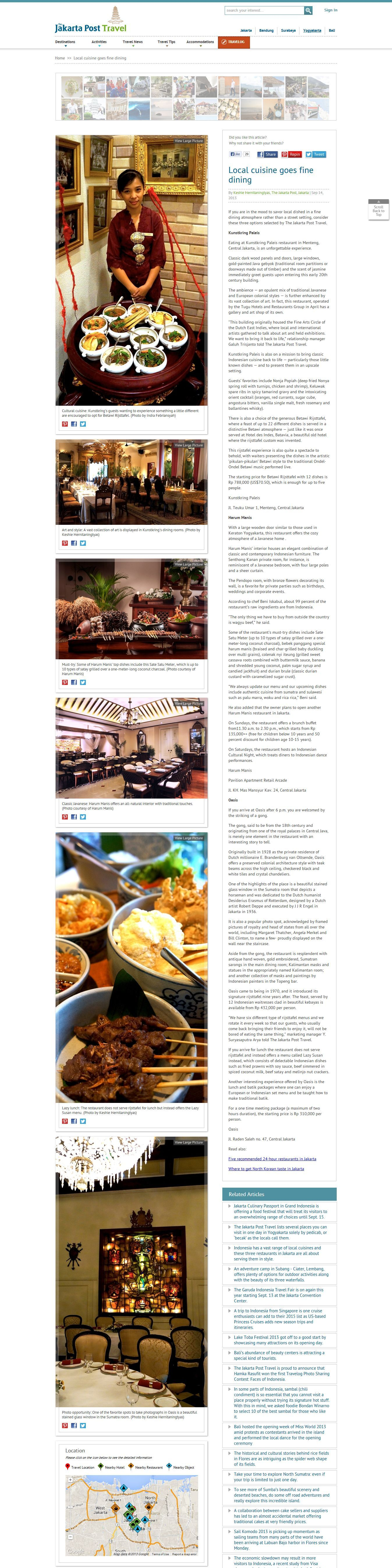 local cuisine jakpost