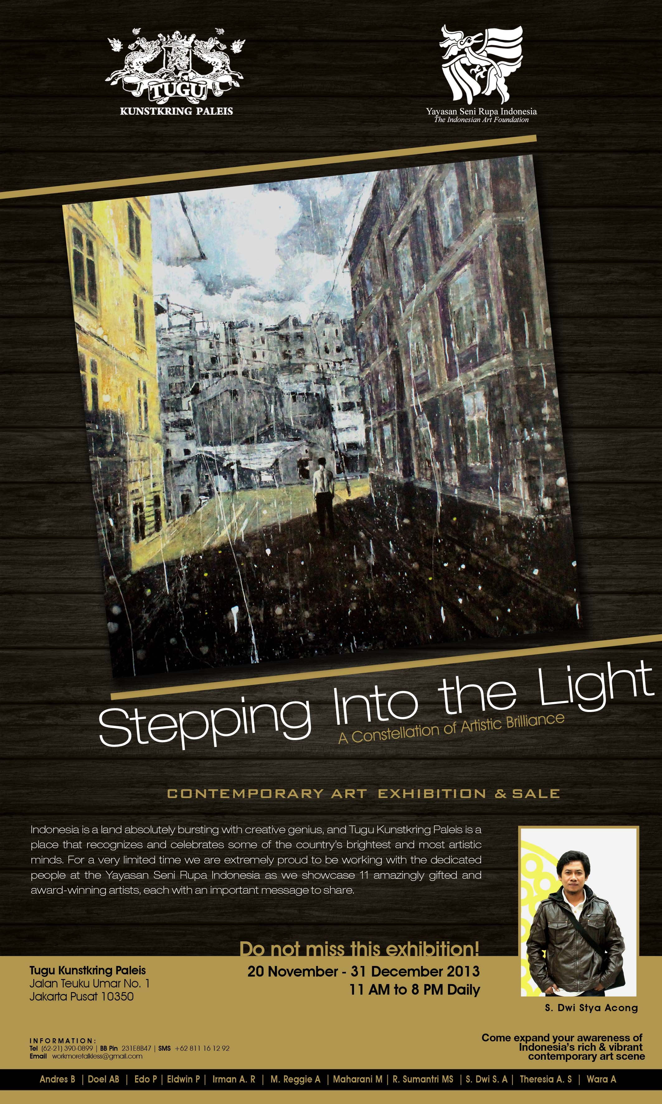 Stepping Into: Stepping Into The Light