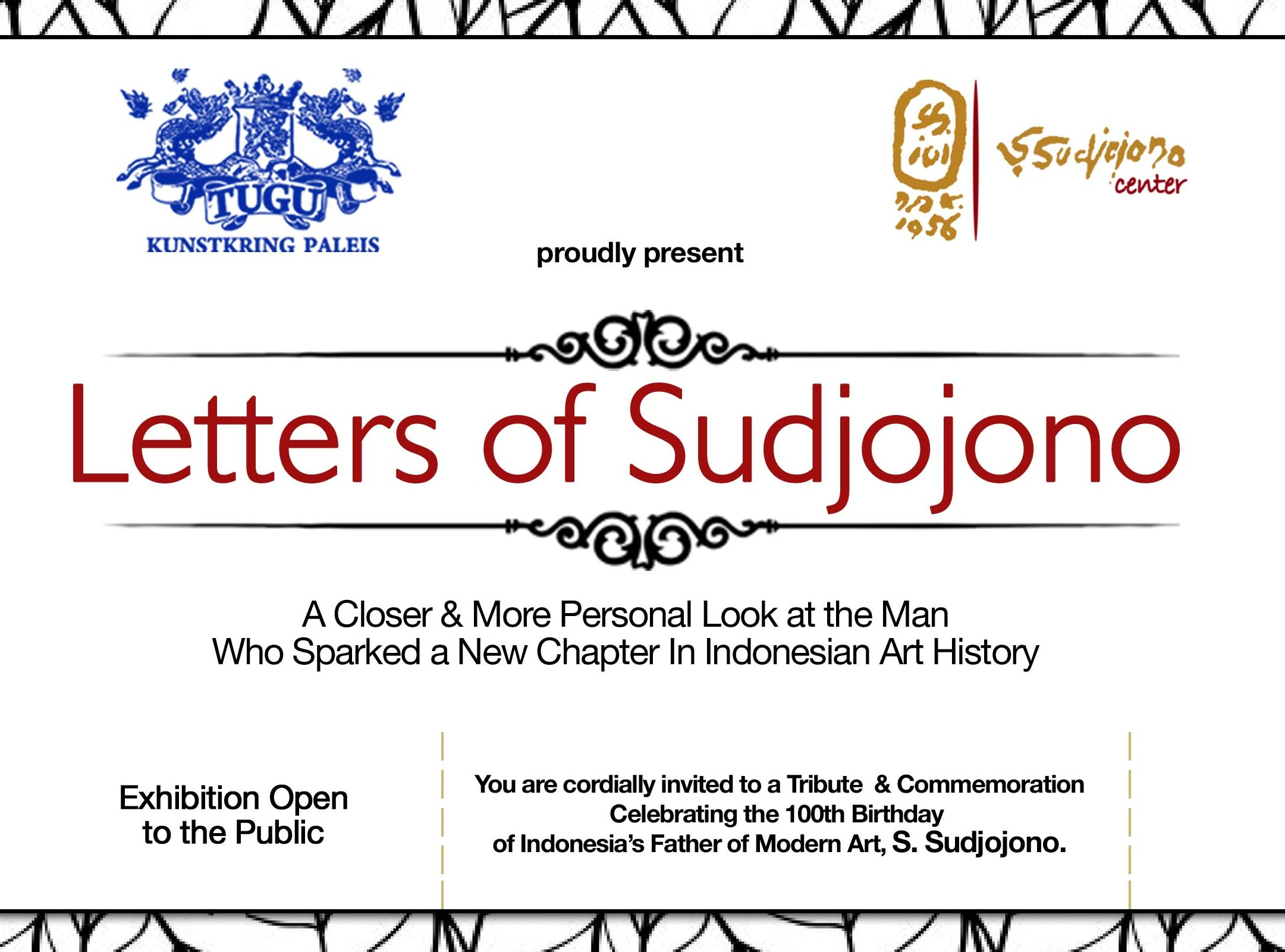 letters of sudjojono - a closer & more personal look at the man who sparked a new chapter in indonesian art history - tugu kunstkring paleis