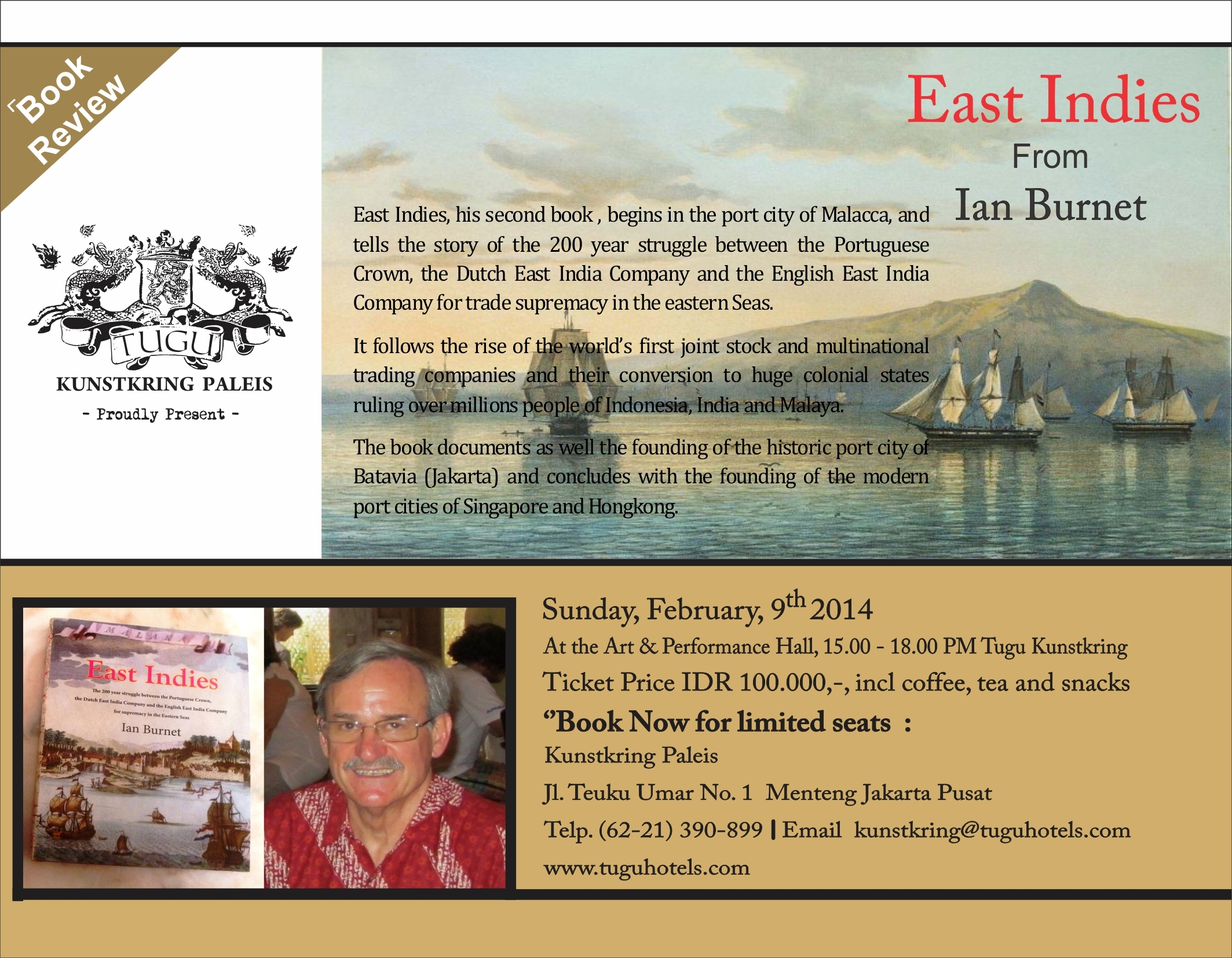 east indies book review from ian burnet at tugu kunstkring paleis