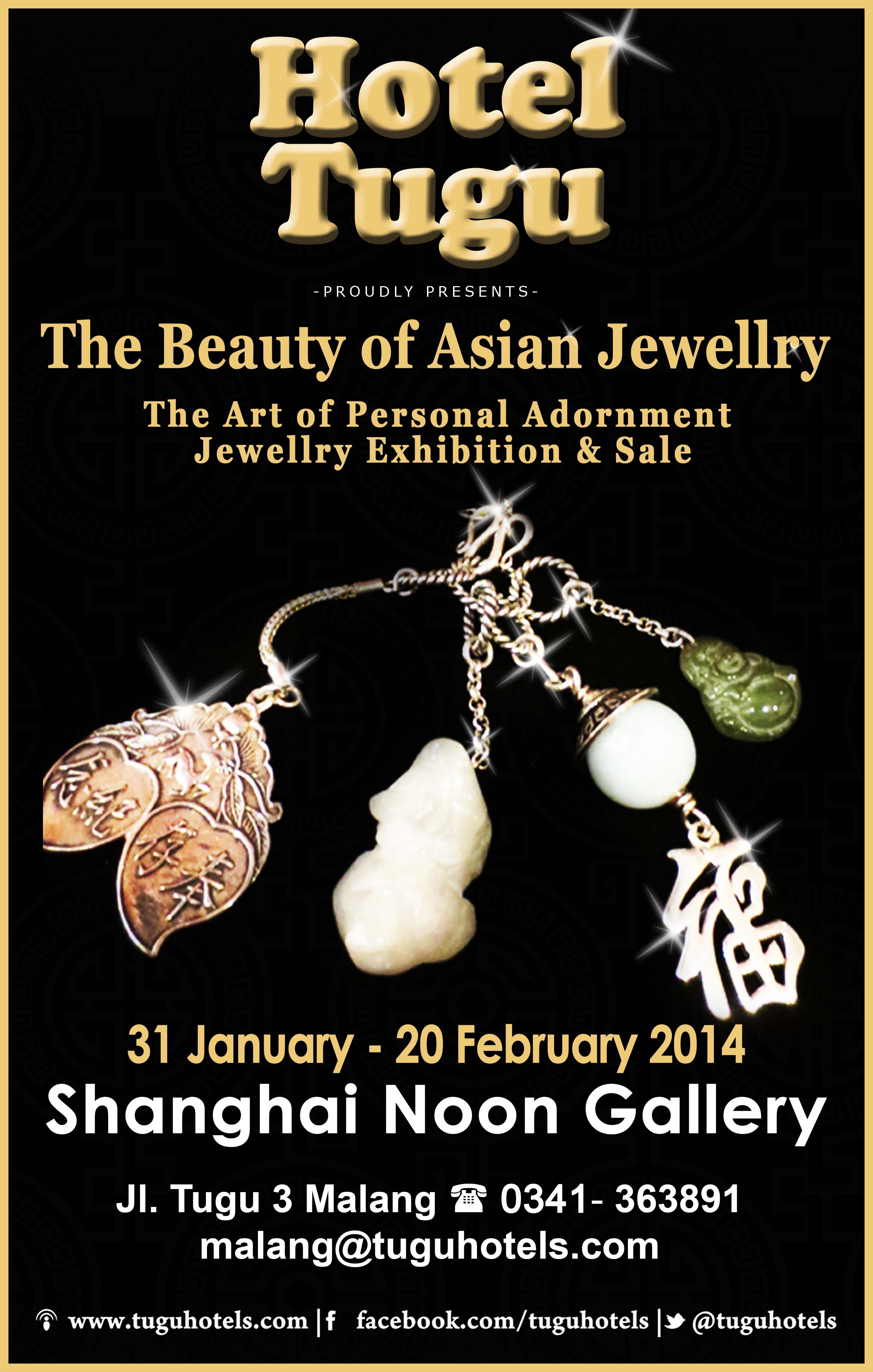 hotel tugu malang - the beauty of asian jewellry - the art of personal adornment jewellry exhibiton and sale 2014 at shanghai noon gallery