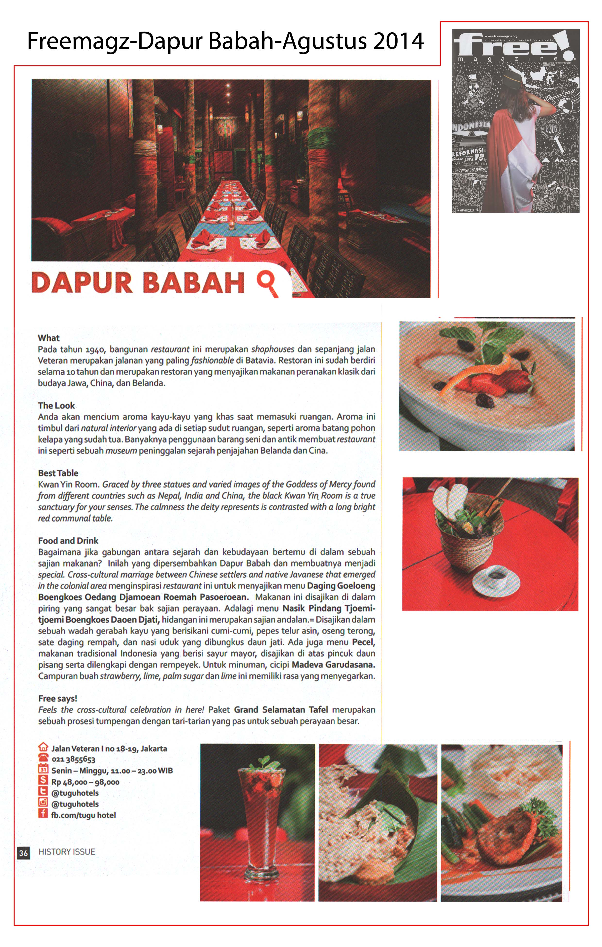 freemagz - dapurbabah august 2014
