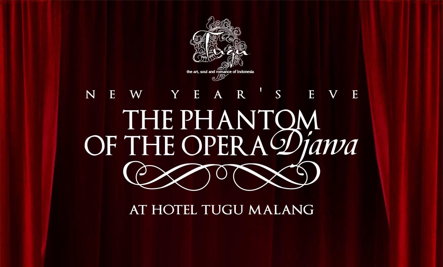 new year's eve - the phantom of the opera djawa at hotel tugu malang