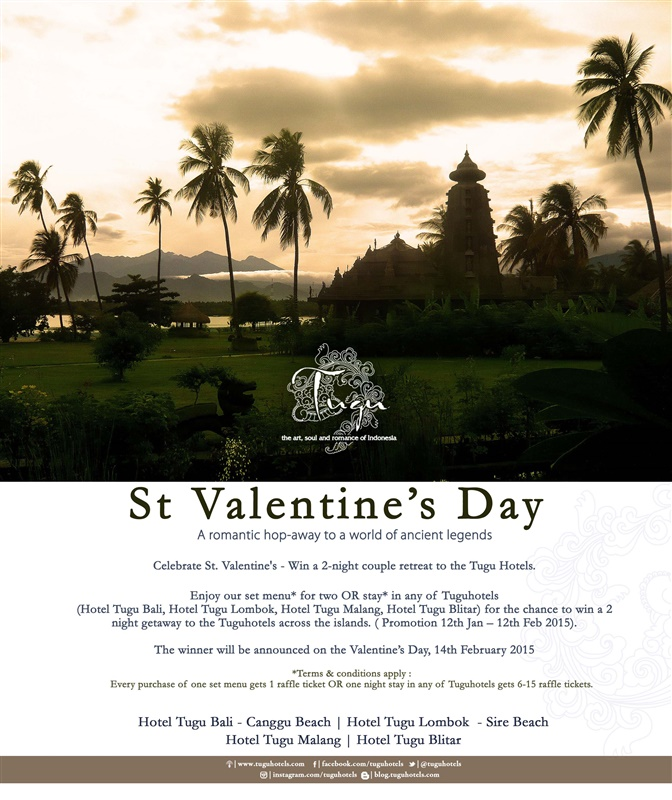 st valentine's day - a romantic hop-away to a world of ancient legends