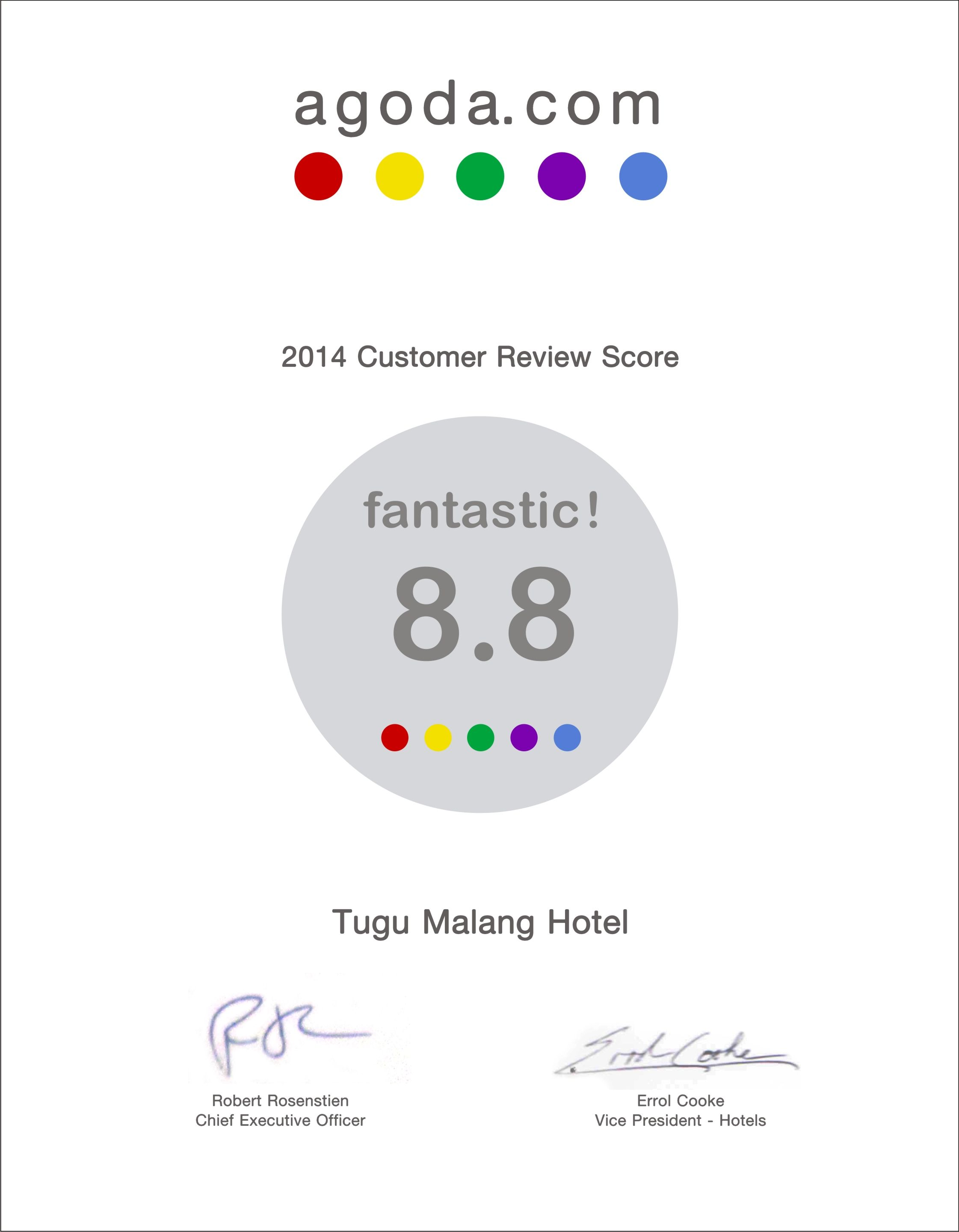 Hotel Tugu Malang 2014 Customer Review From Agoda