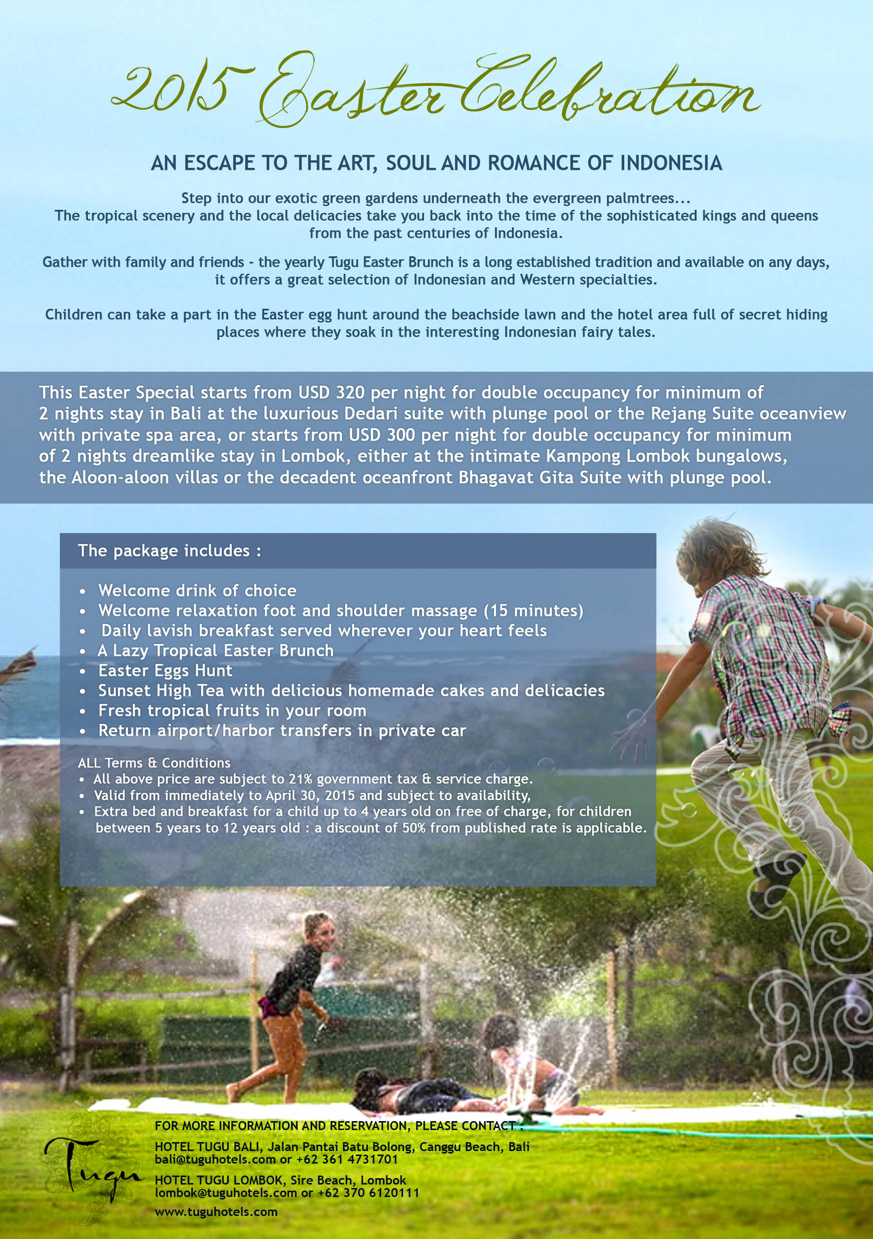 HOTEL TUGU BALI Archives - Page 22 of 32 - What's on @Tugu