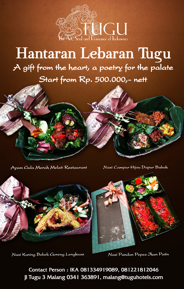 Celebrating Eid Mubarak With Special Menus & Hampers at Hotel Tugu Malang
