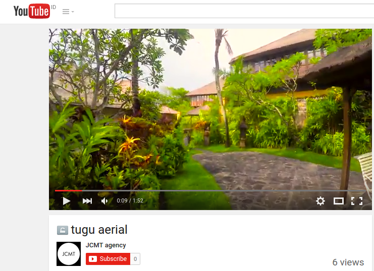 Hotel Tugu Bali Aerial by Jerome Courtial