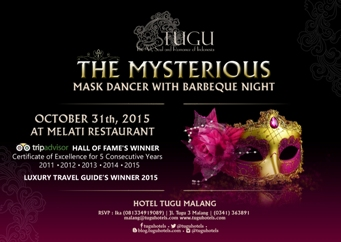 The Mysterious Mask Dancer with Barbeque Night – Hotel Tugu Malang