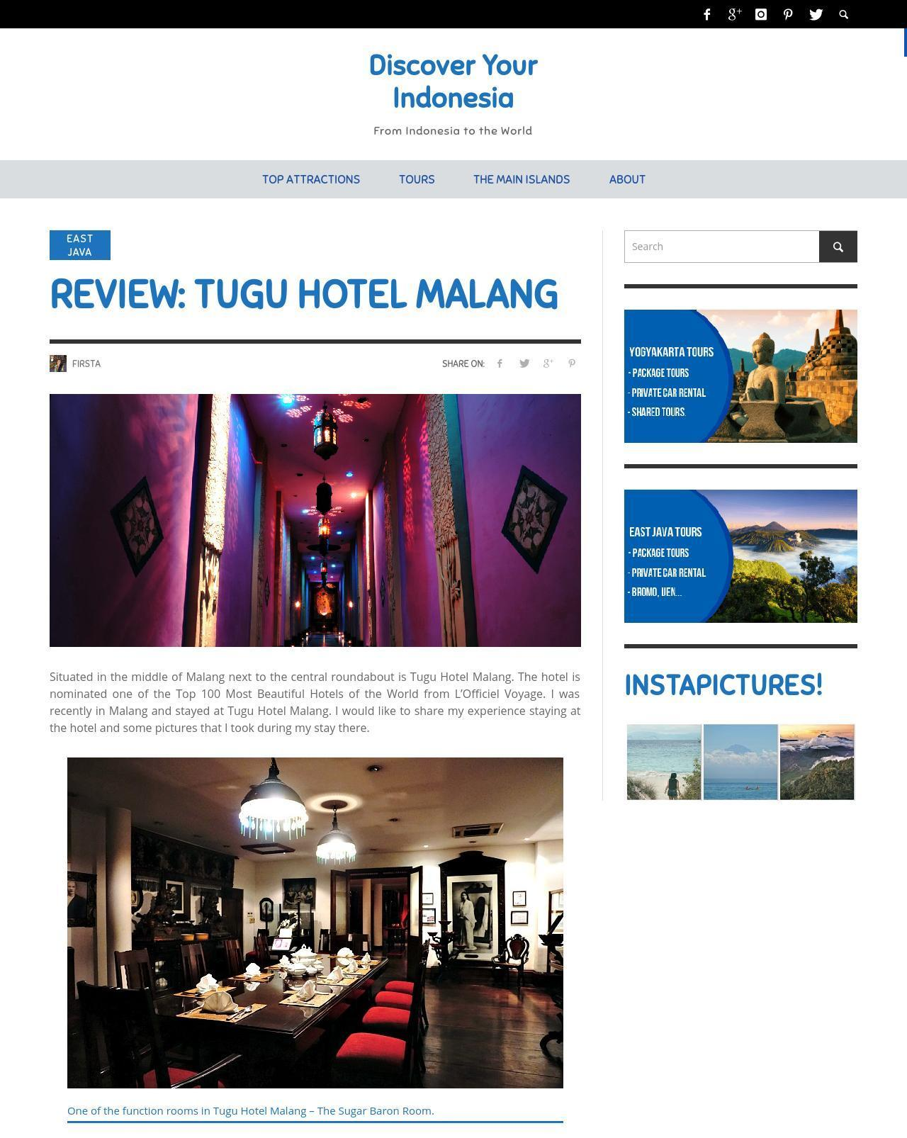 REVIEW  TUGU HOTEL MALANG-thumb