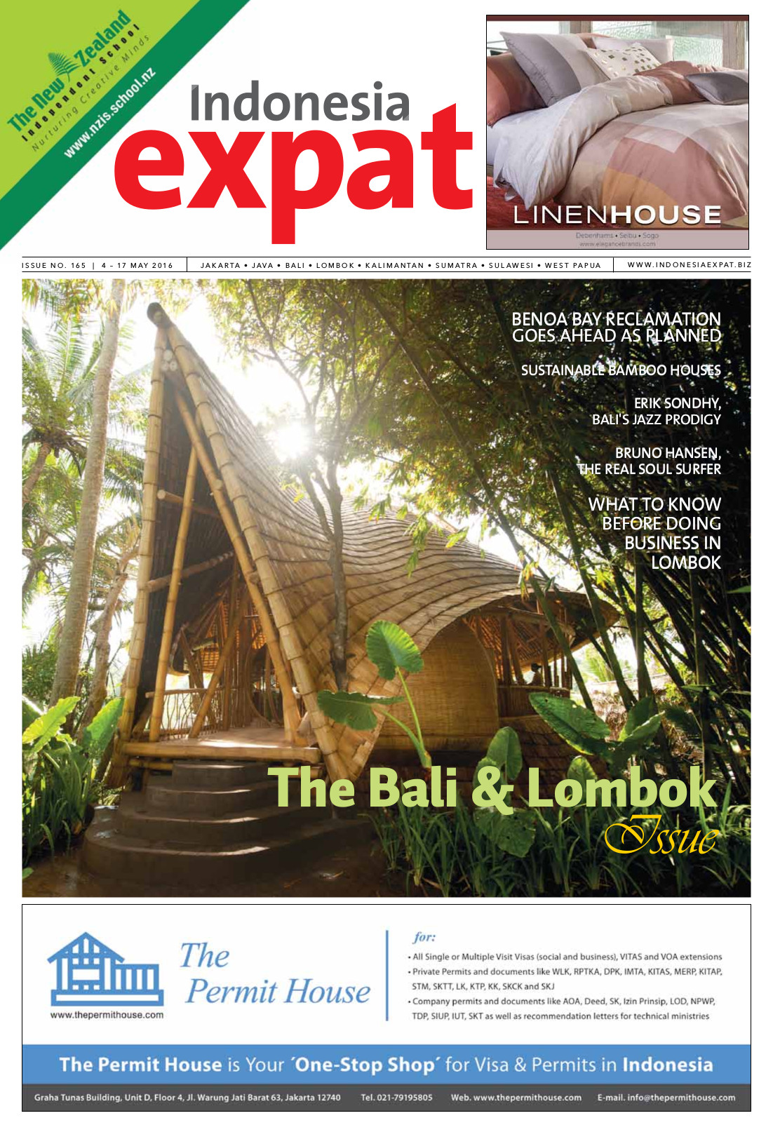 Hotel Tugu Bali, Lombok, Malang advertising at Indonesia expat Issue No. 165 4-17 May 2016