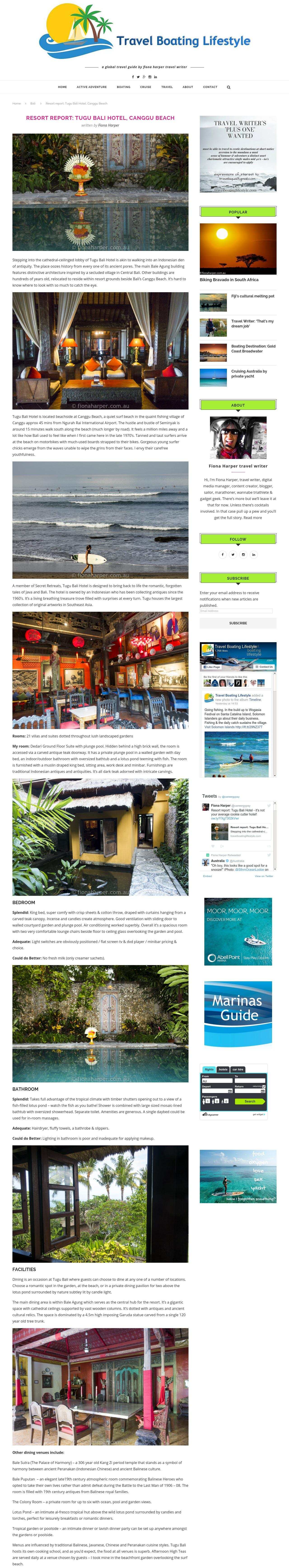 Resort Report Tugu Bali Hotel, Canggu Beach - travelboatinglifestyle.com1