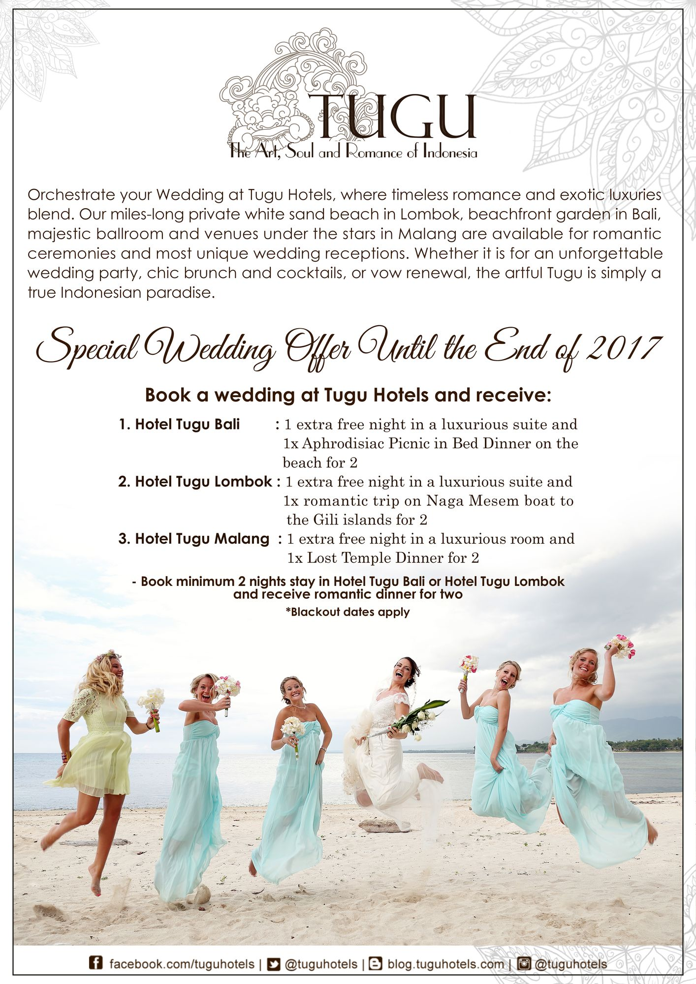 Special Wedding Offer Until the End of 2017