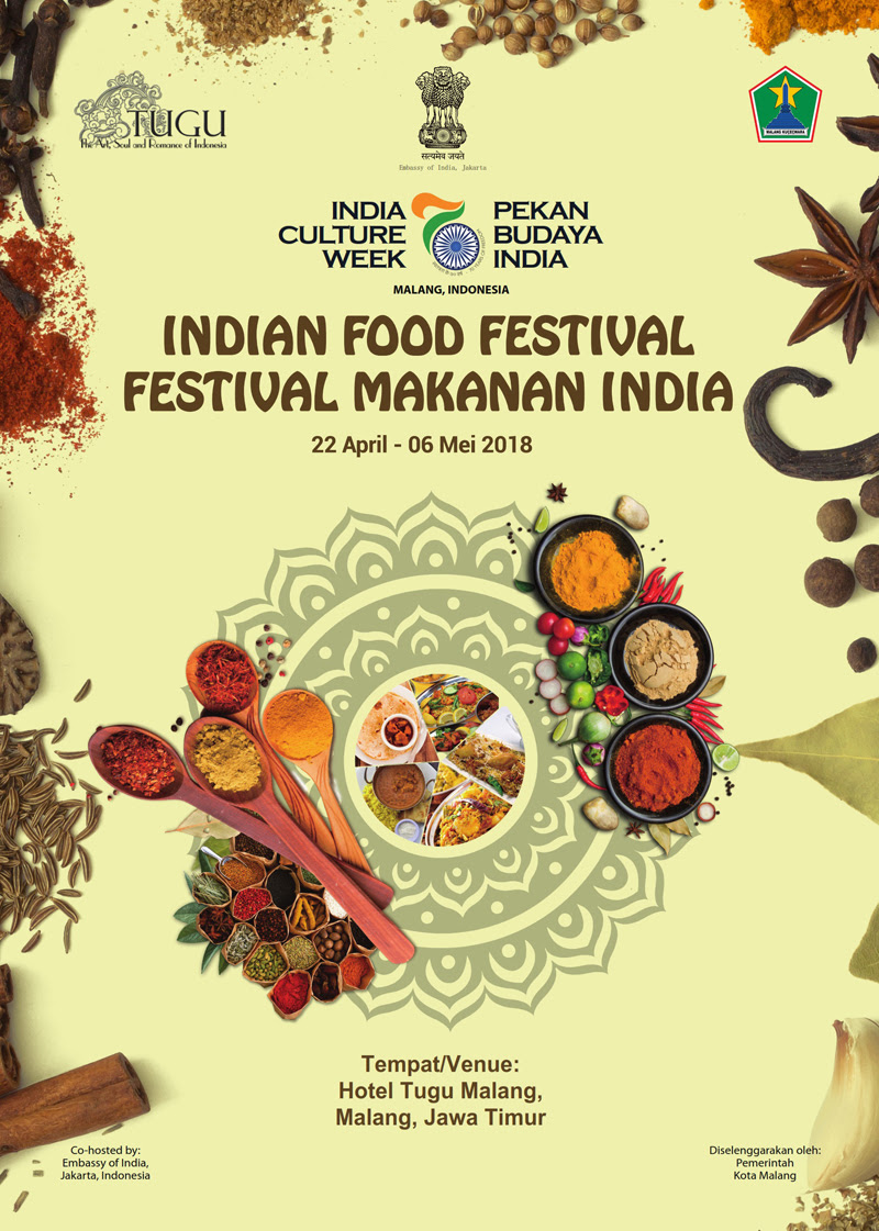 Indian Food Festival At Hotel Tugu Malang