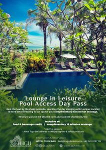Lounge and Leisure Pool Access Day Pass