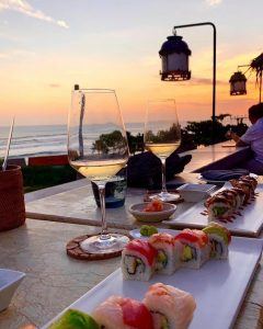 best sunset spot Canggu