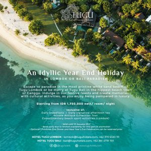 Year End Holidays with Tugu Hotels