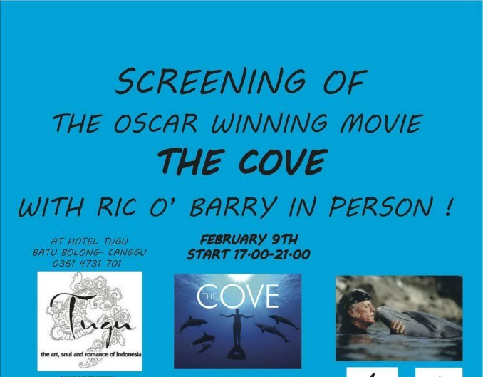 screening of the oscar winning movie the cove with ric o barry in person