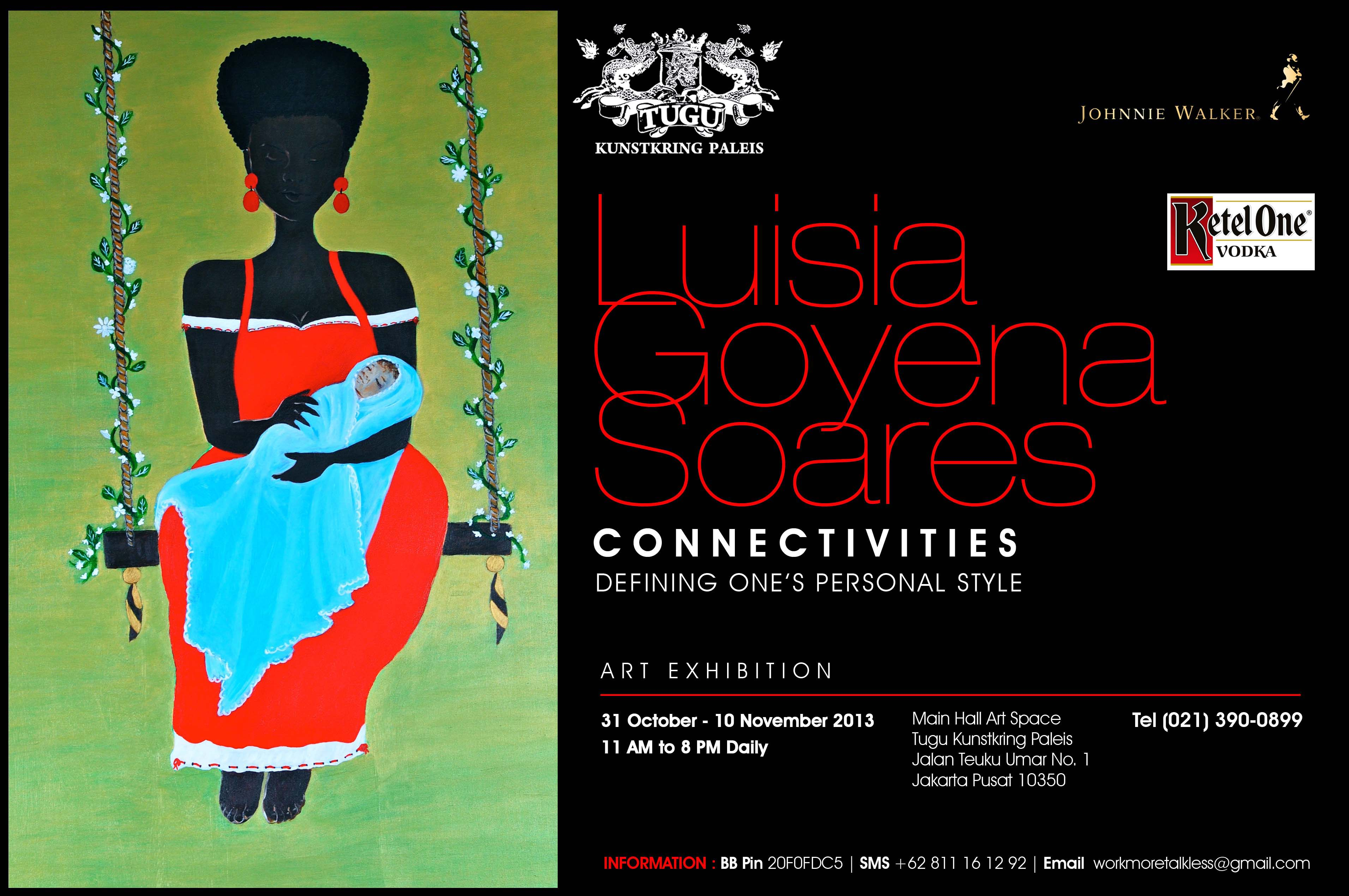 luisia goyena soares connectivities - defining one's personal style at tugu kunstkring paleis