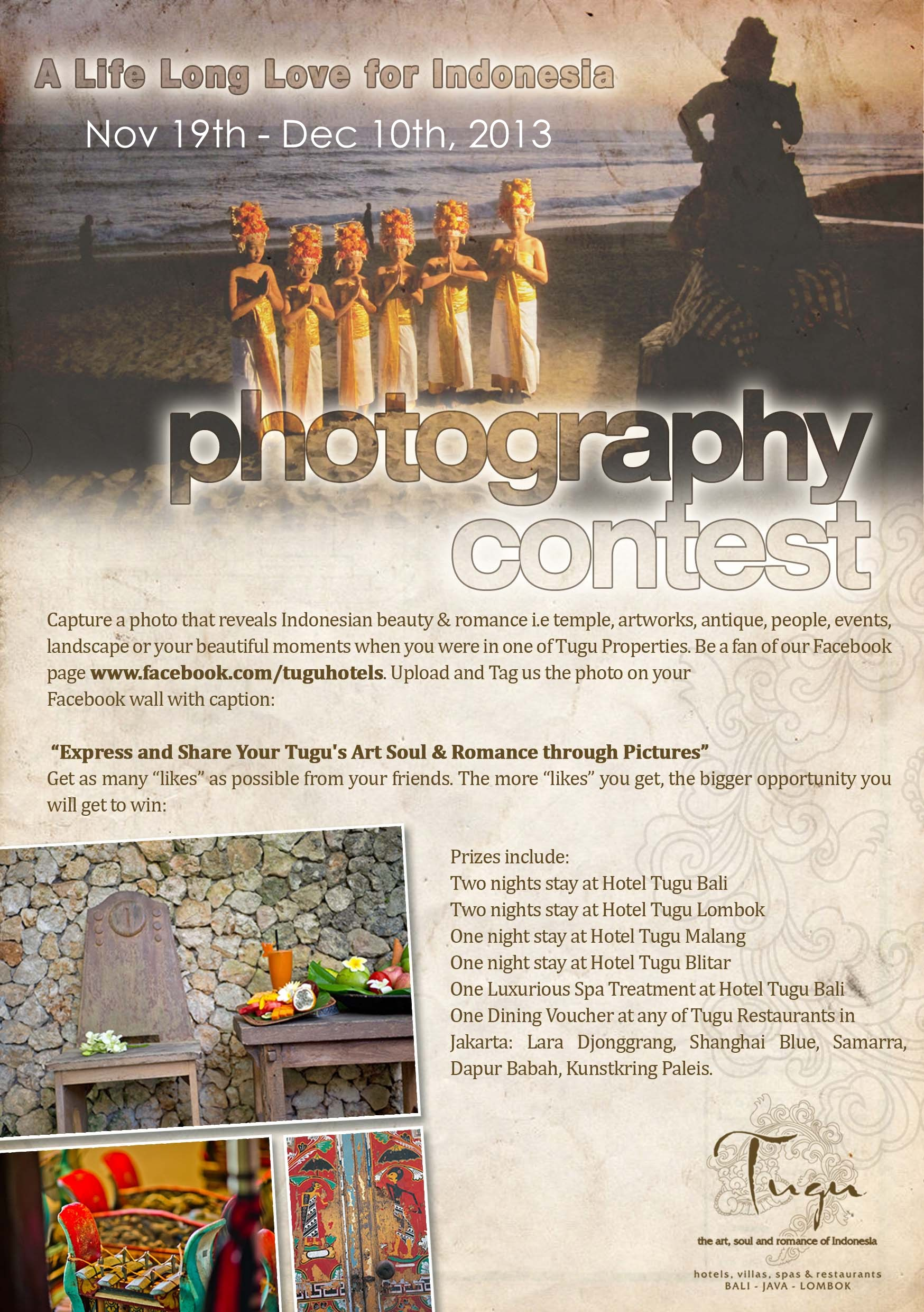 a life long love for indonesia - photography contest nov 19th - dec 10th 2013