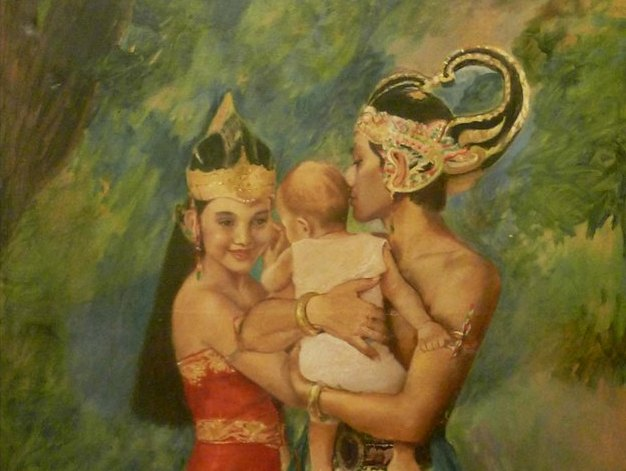 """divine light - tales of a romantic nymph in a fabled land """"laila dempster"""" at tugu kunstkring paleis"""