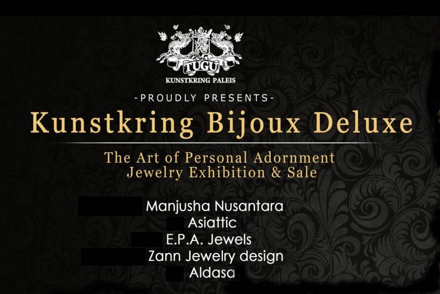 kunstkring bijoux deluxe - the art of personal adornment jewelery exhibition & sale