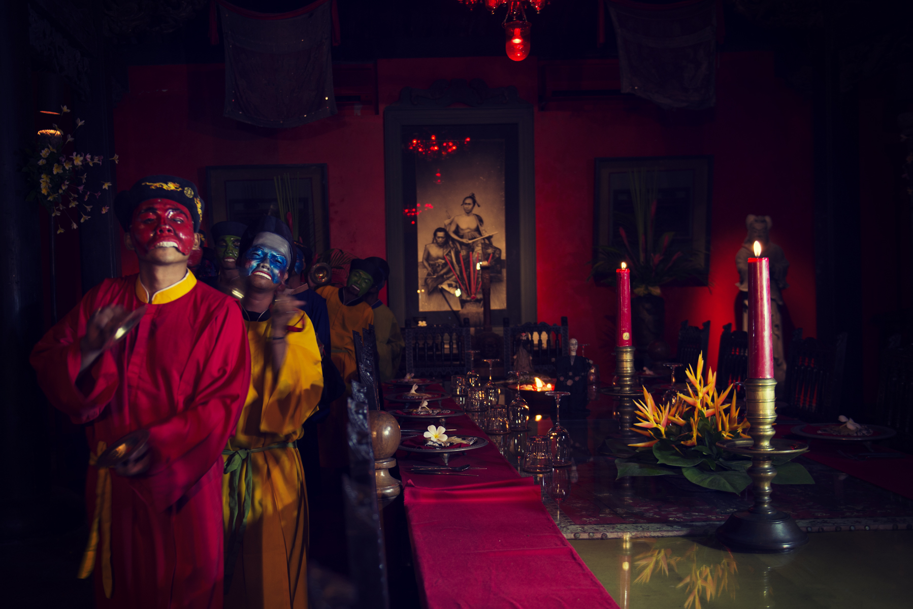 The Forbidden City Dinner at Bale Sutra