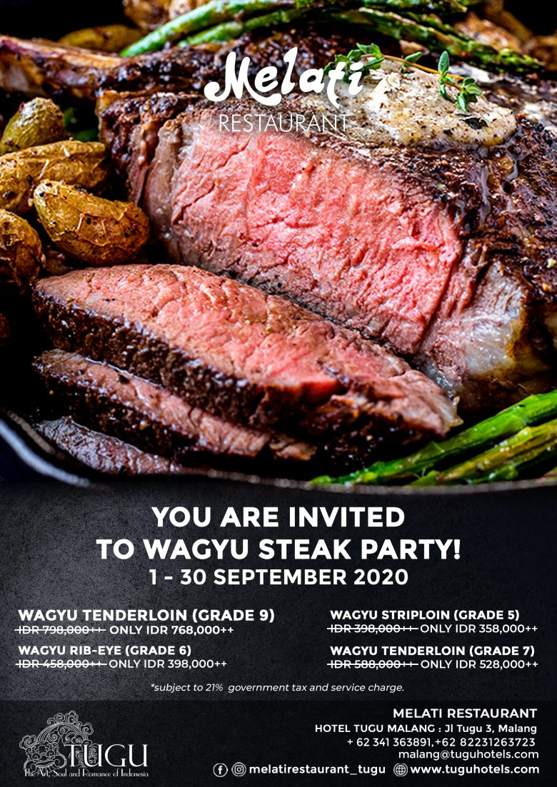 Wagyu Steak party